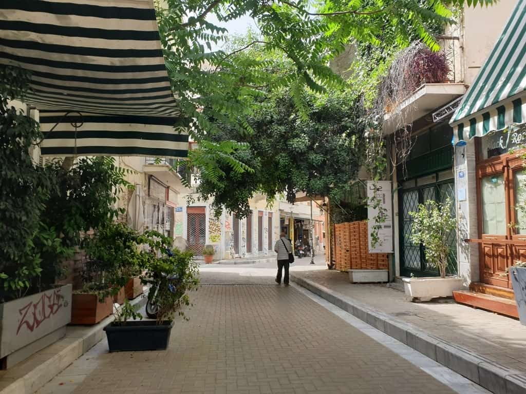 Psiri Area in Athens
