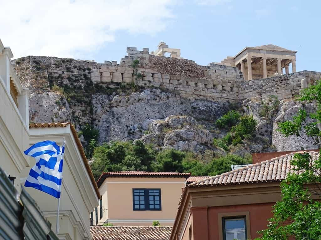 Plaka in Athens - How many days should I spend in Athens