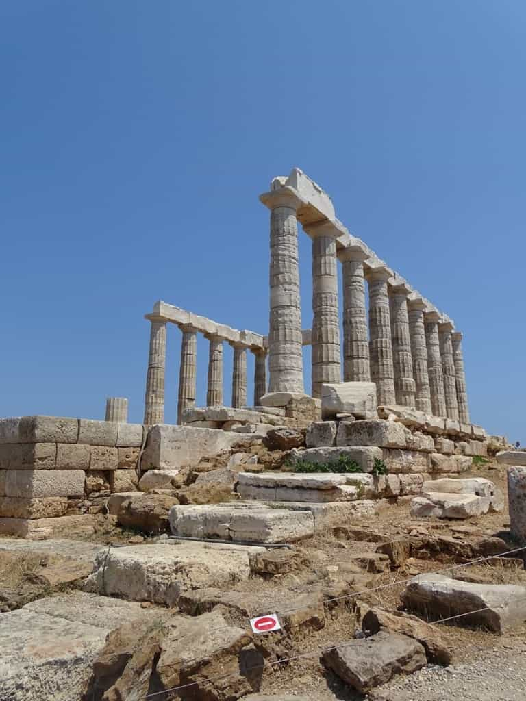 Temple of Poseidon in Sounio