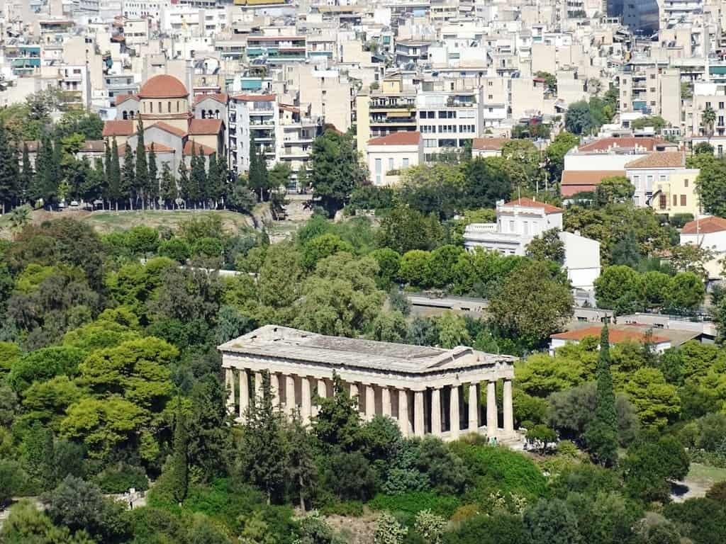 Temple of Hephaestus in Ancient Agora