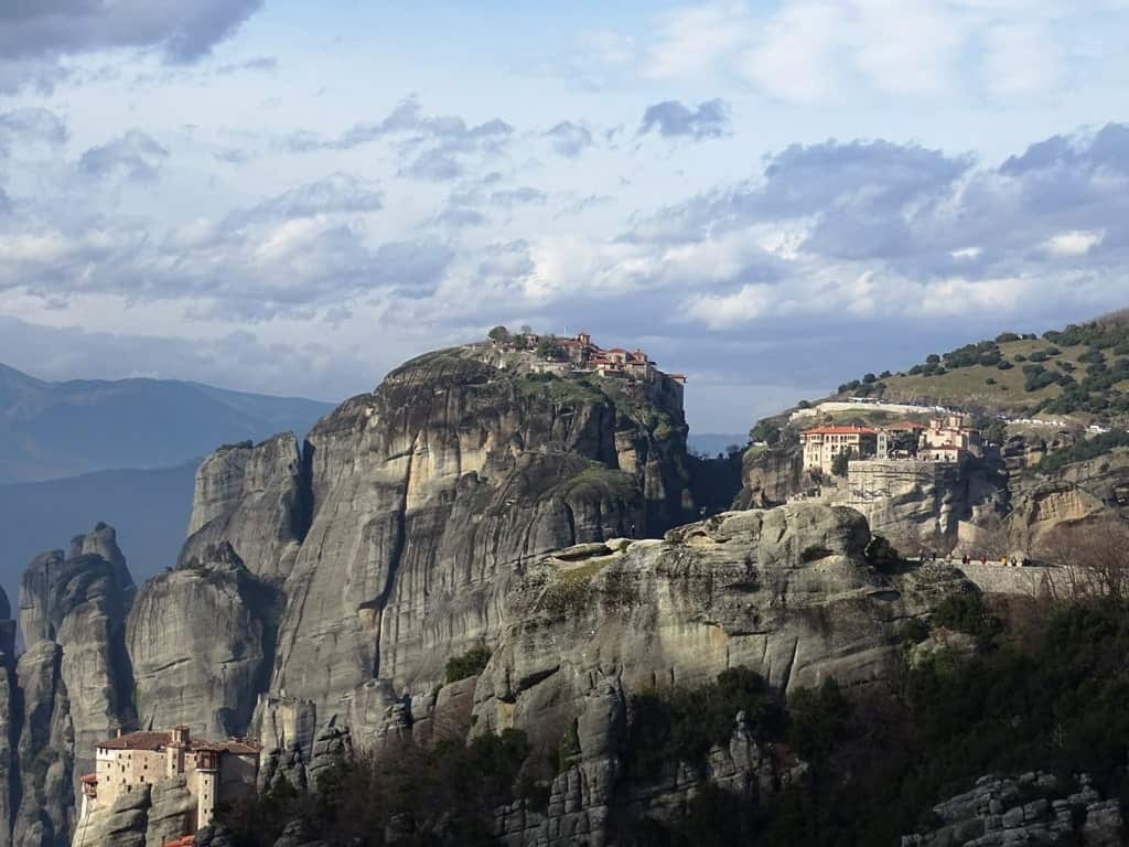 Meteora from Athens as a day trip
