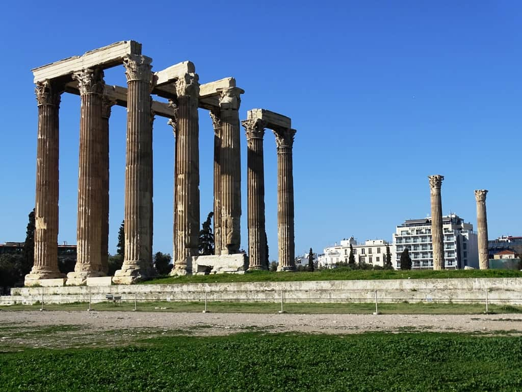 Temple of Olympian Zeus - One day in Athens