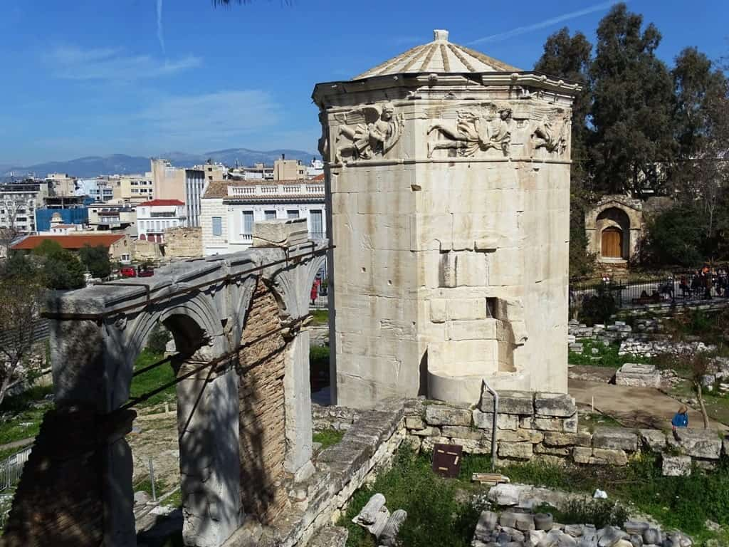 Tower of the Winds - One day in Athens itinerary