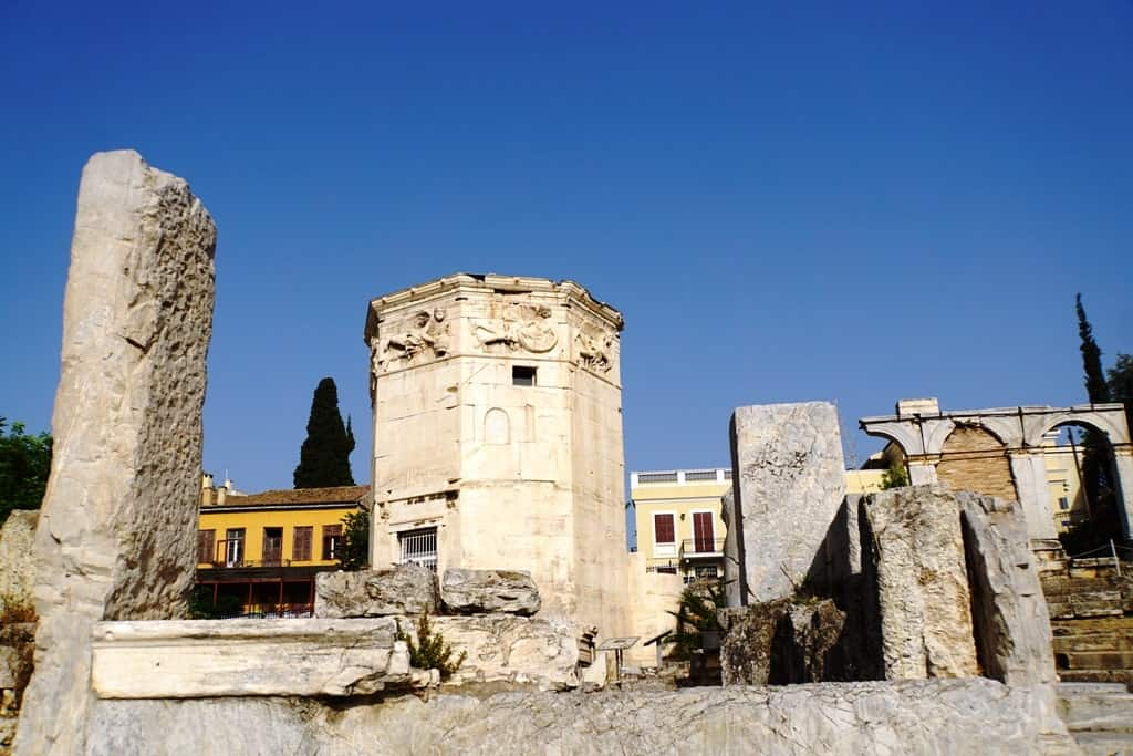 The Roman Agora and the Tower of the Winds