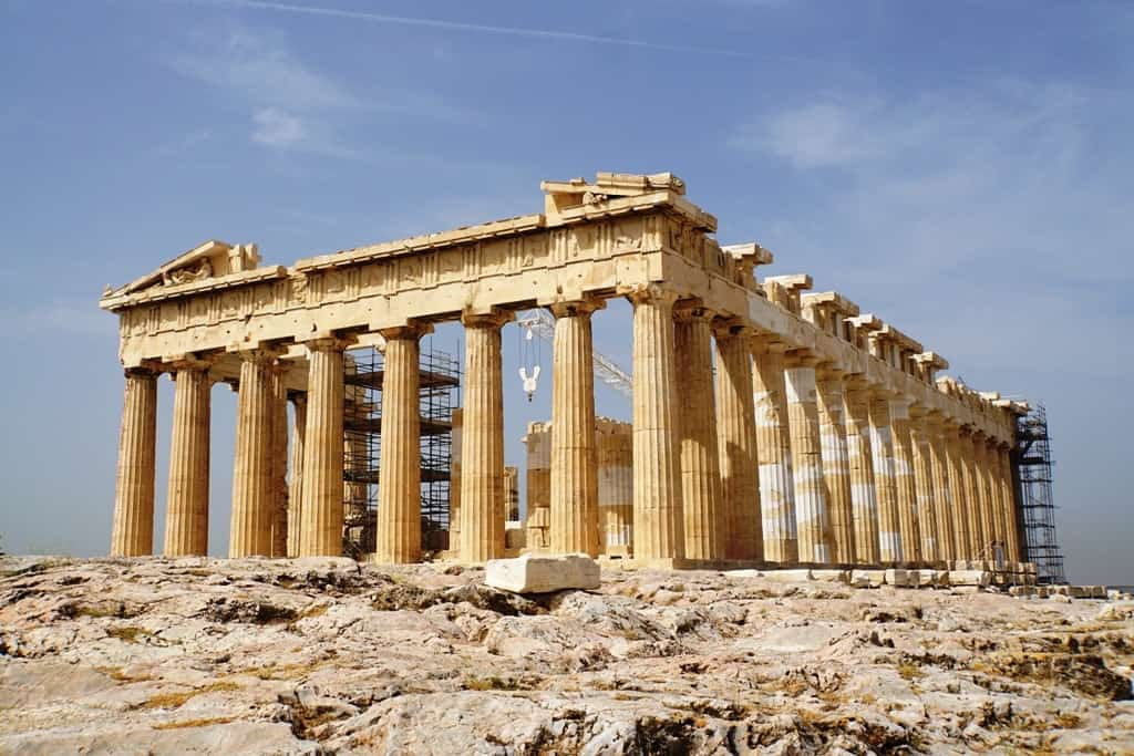 Acropolis - how Athens got its name