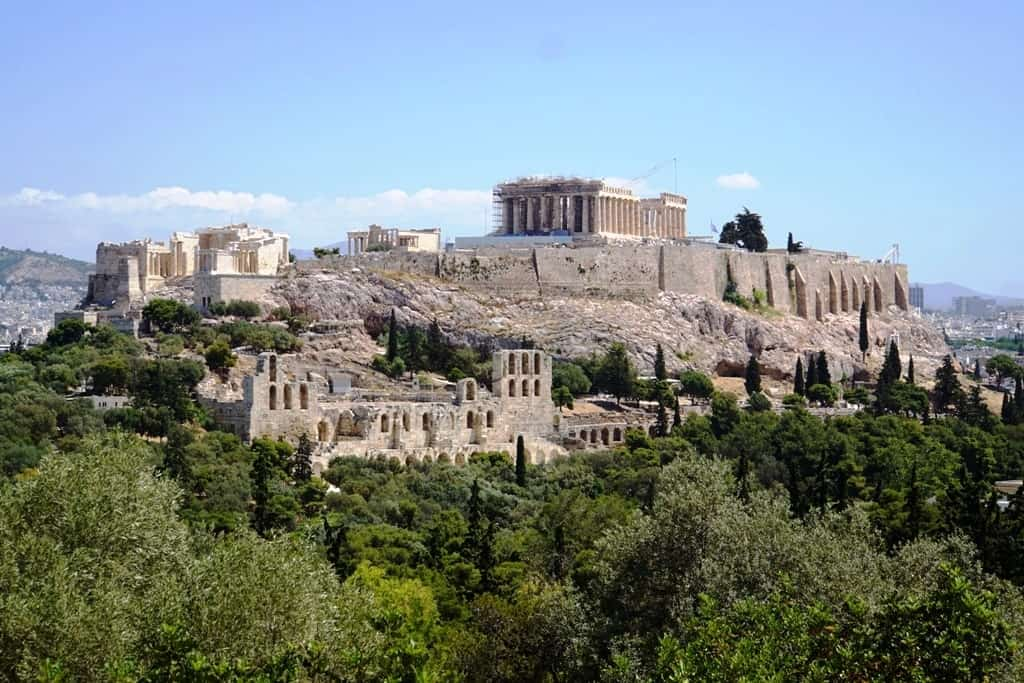 How Athens got its name