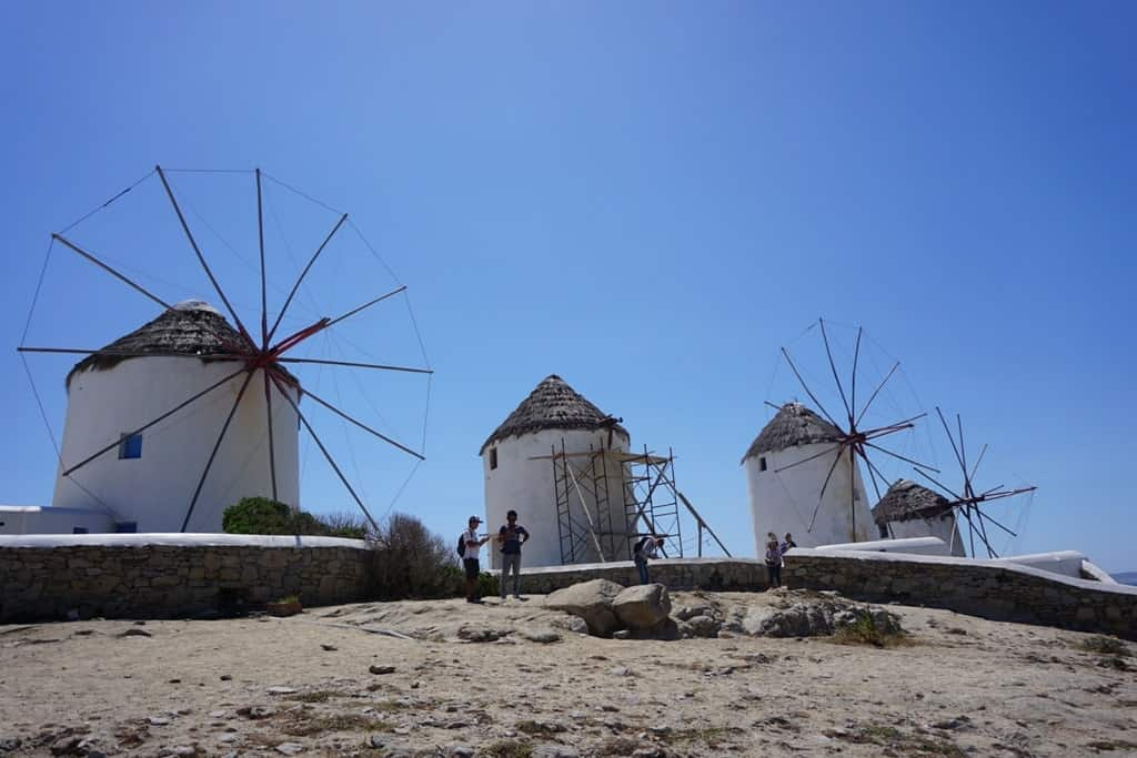 The windmills of Mykonos - Athens to Mykonos day trip