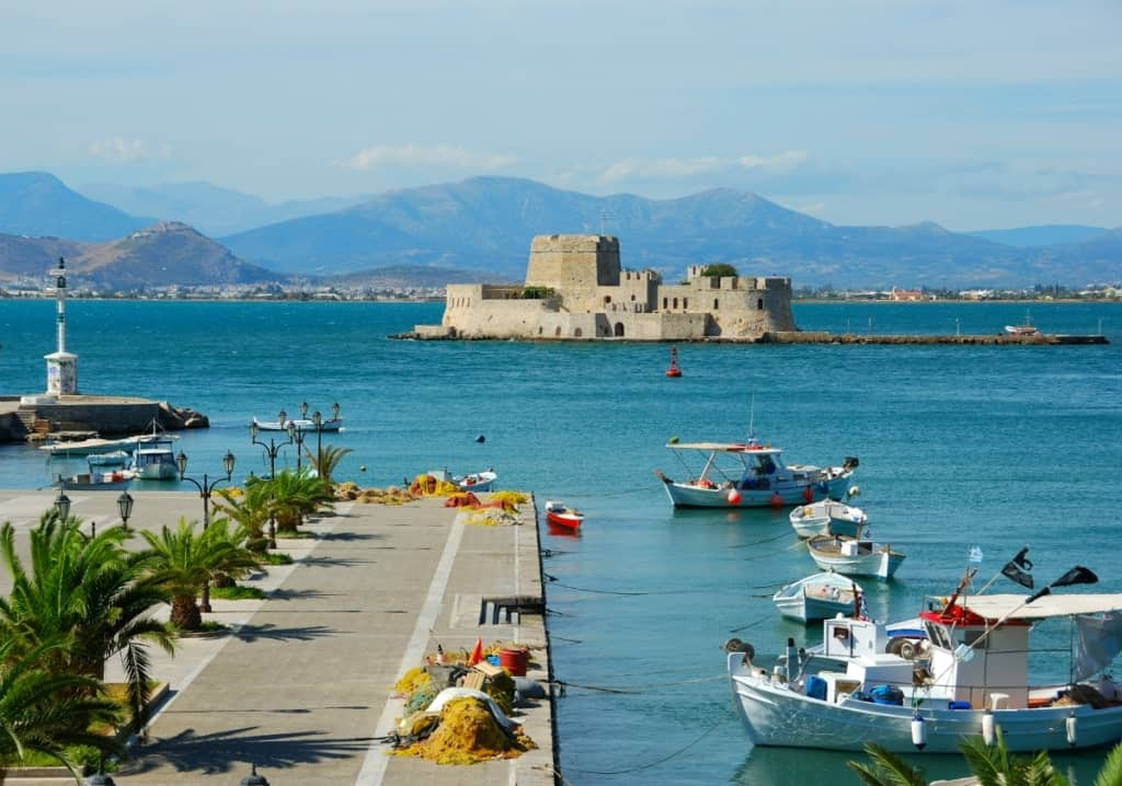Nafplio is a great day trip from Athens