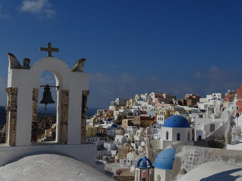A day trip to Santorini