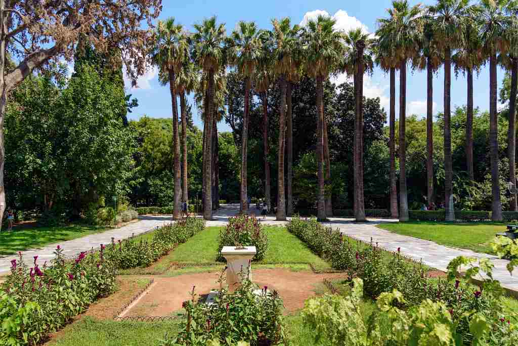 National Garden - free things to do in Athens