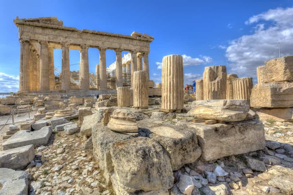 Parthenon-temple - Historical Sites to visit in Athens