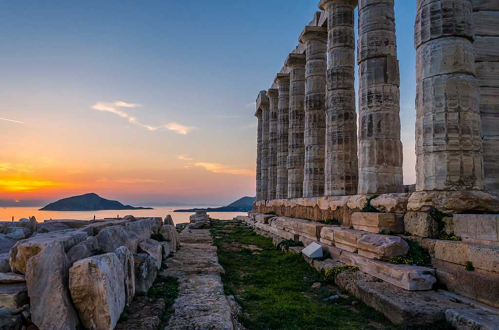 Temple of Poseidon - best day trips from Athens
