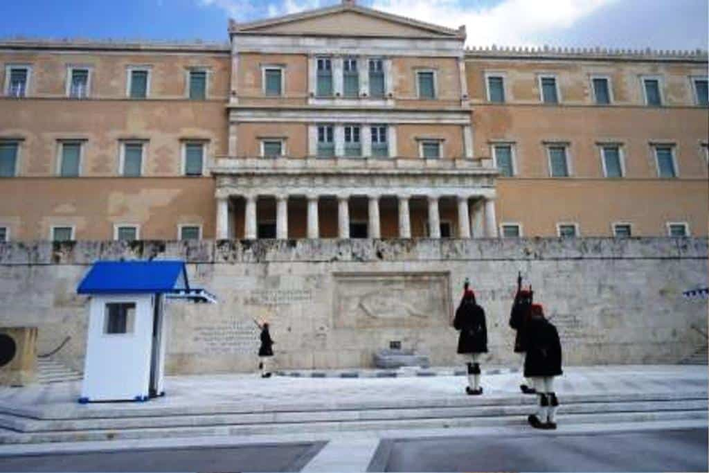 Parliament in Athens in 3 days