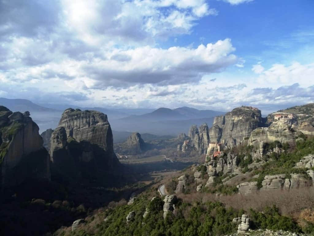 Meteora is  a great day tri from Athens