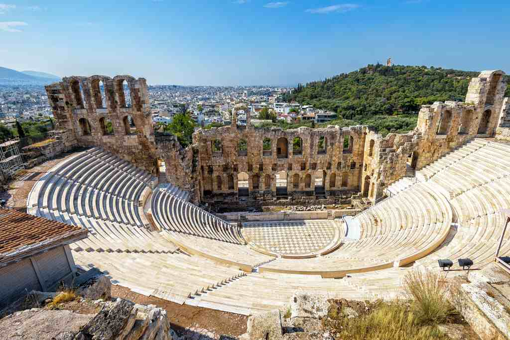 Odeon of Herodes Atticus - Historical sites Athens