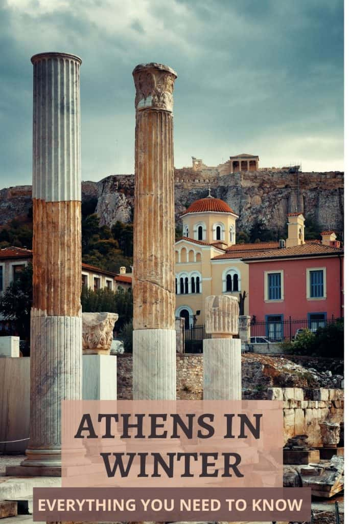 Athens in Winter , Things to do in Athens in Winter, Weather in Athens in winter