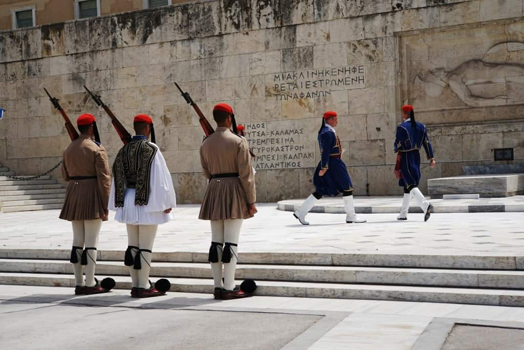 The Change of the Guards in Athens
