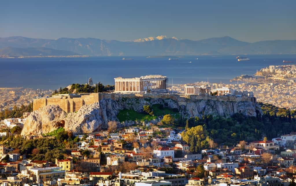 The hills of Athens - Acropolis