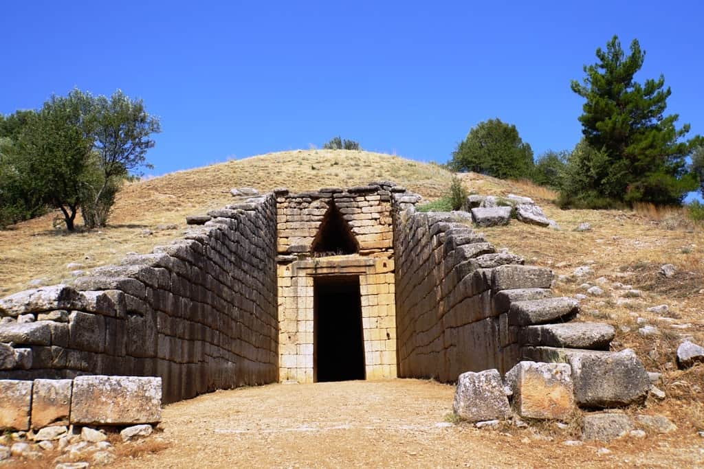 Treasury of Atreus - a day trip from Athens to Mycenae