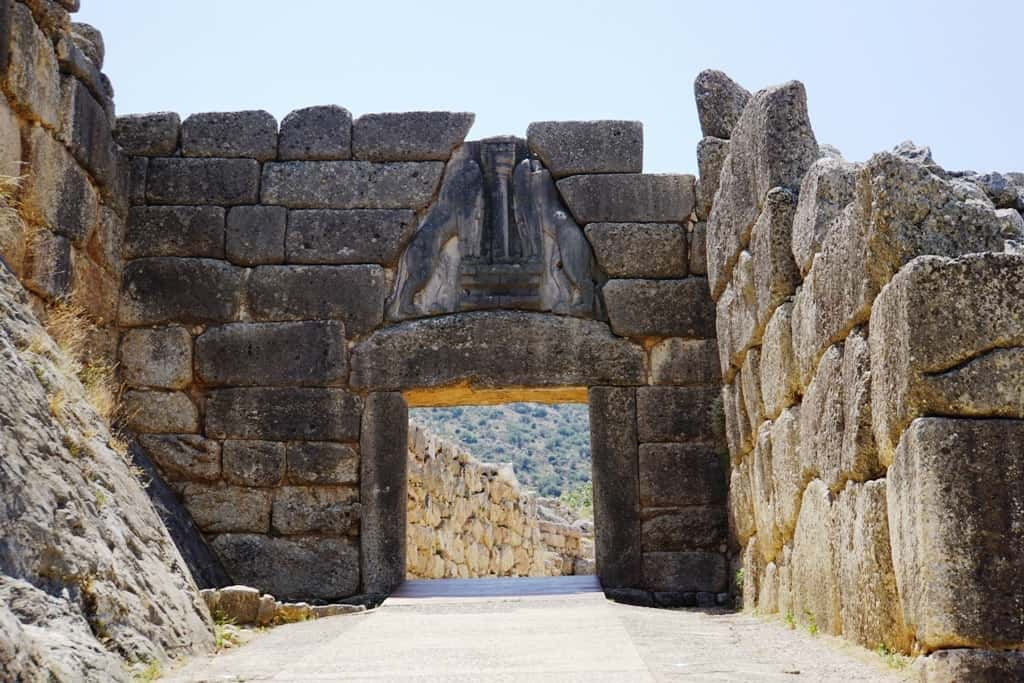 Lions' Gate - how to get from Athens to Mycenae