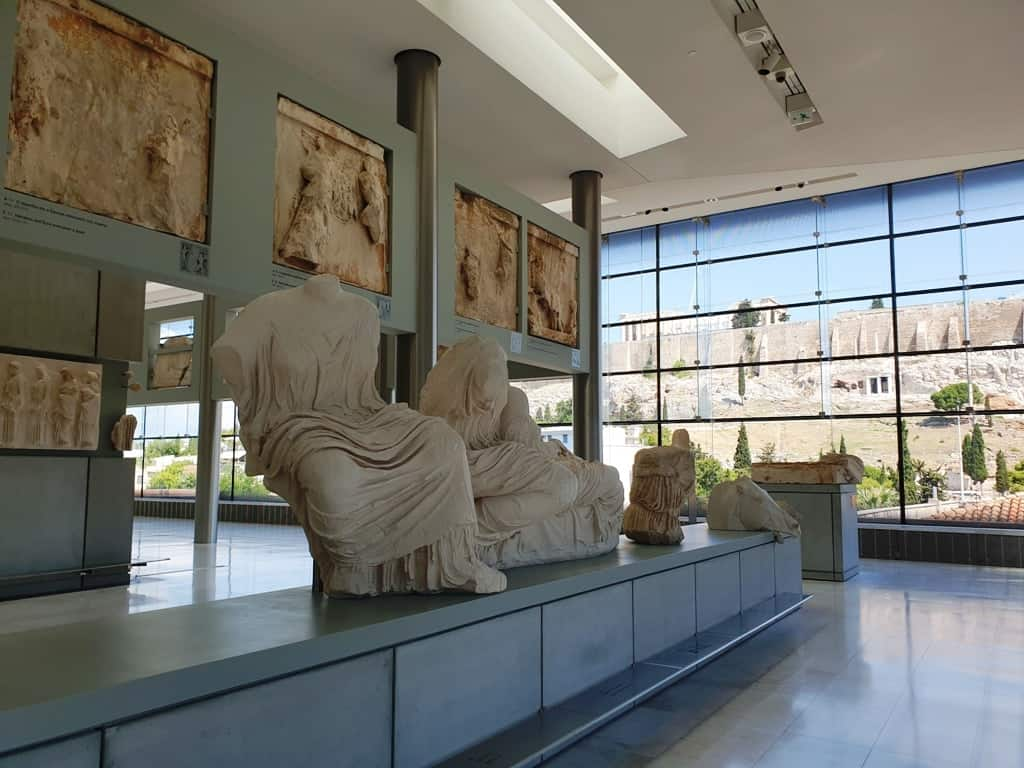 The Acropolis museum in Athens is one of the best museums in the city