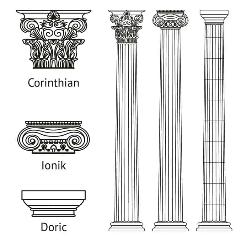 Three Orders of Greek Architecture