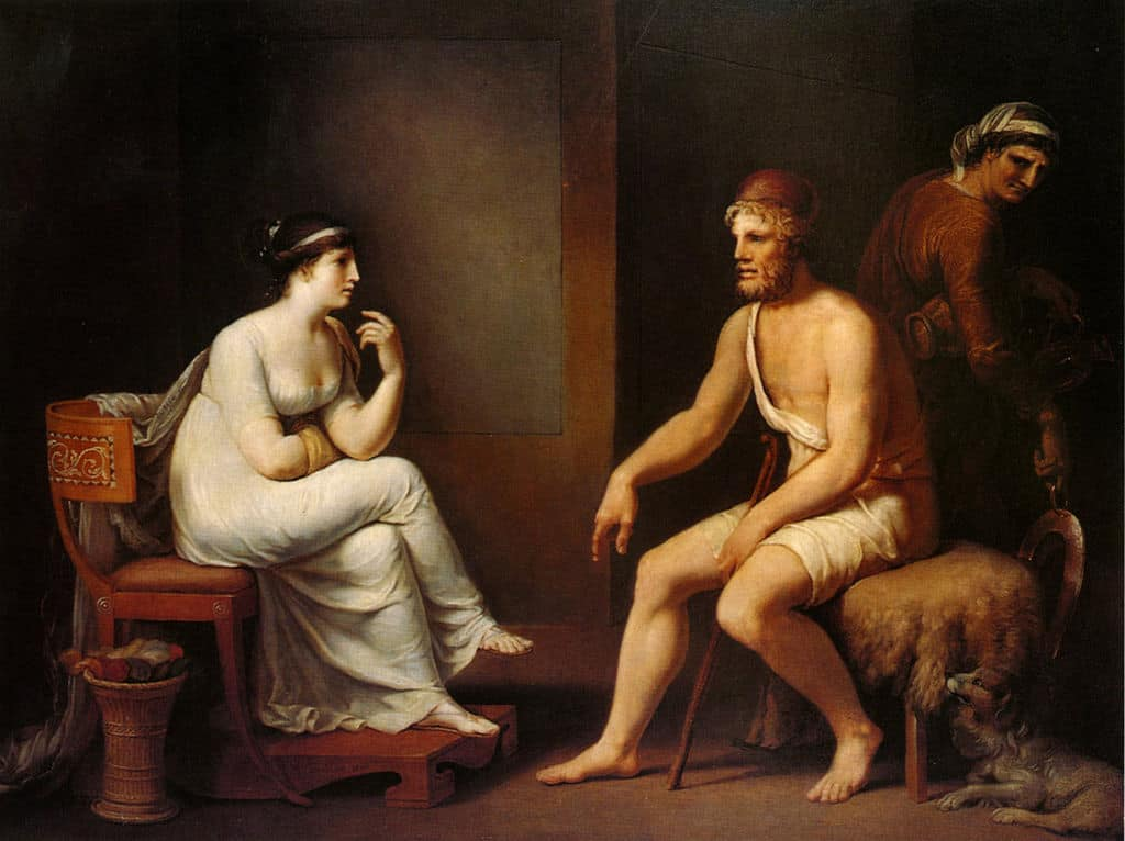 Odysseus and Penelope - 10 Famous Love Stories in Ancient Greek Myths