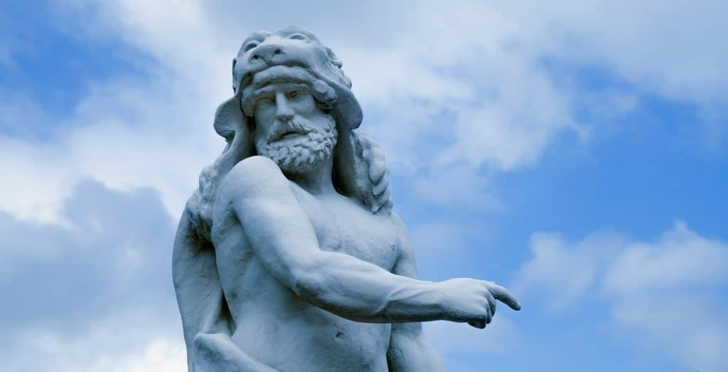 Heracles is a famous Greek hero