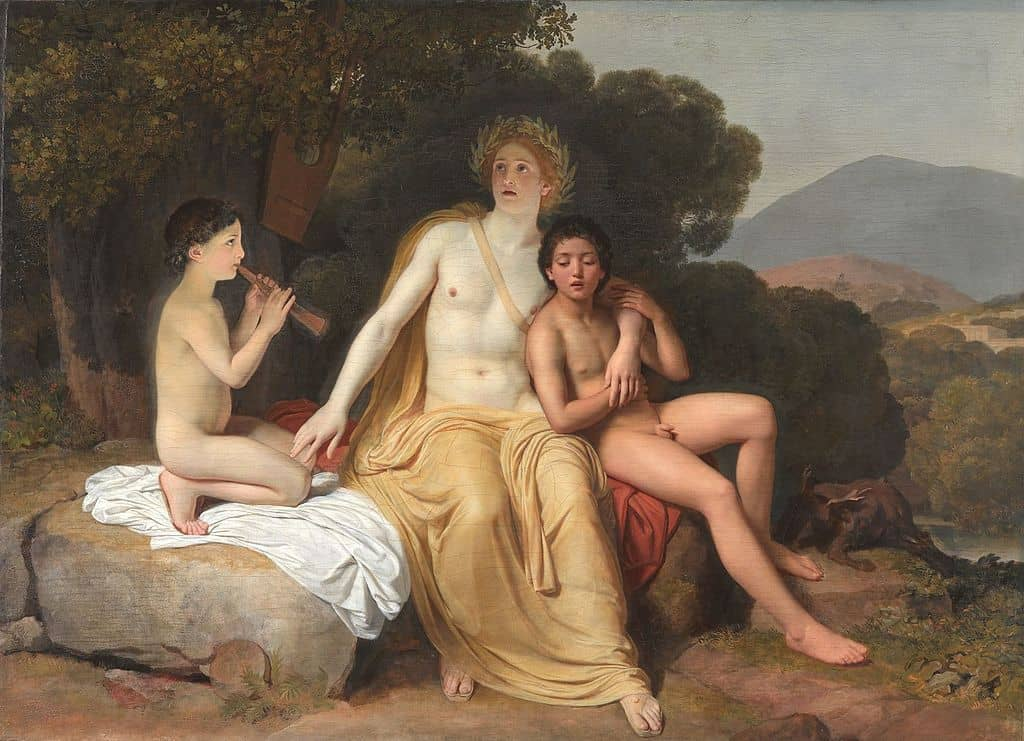 Apollo and Hyacinthus - Greek Mythology Stories About Love