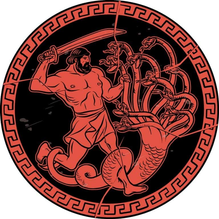 Slay the Lernean Hydra - 12 labours of Hercules