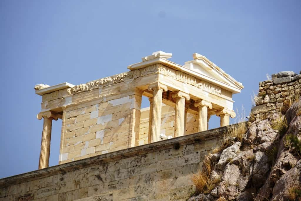 Temple of Athena Nike - Visiting the Acropolis