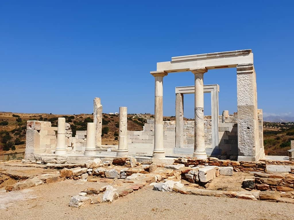 Temple of Demeter in Naxos - Temples of Greek gods